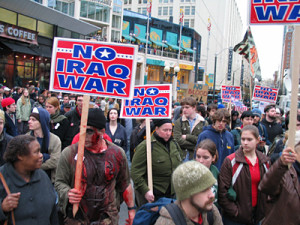 Seattle protests 2003